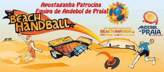 Apostaganha Patrocina Equipa de Andebol de Praia!