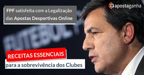 Receitas das apostas desportivas online decisivas para os clubes