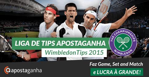Inscreve-te já na Liga de Tips ApostaGanha – WimbledonTips 2015