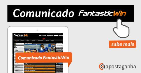 Comunicado Oficial da FantasticWin – website offline