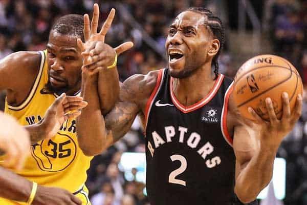 Finais da NBA: Raptors em posição privilegiada perante campeão enfraquecido