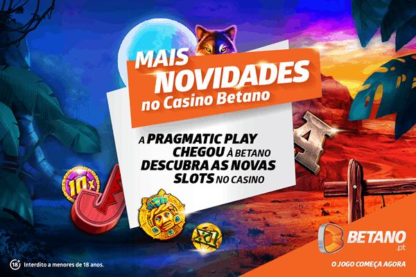 Pragmatic Play chegou ao Casino da Betano