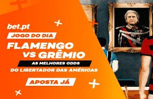 Flamengo vs Grémio no livestream da bet.pt