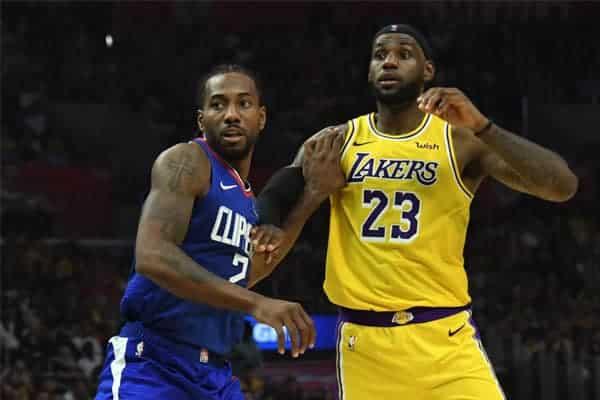 LA Clippers deixam mensagem de natal aos rivais Lakers