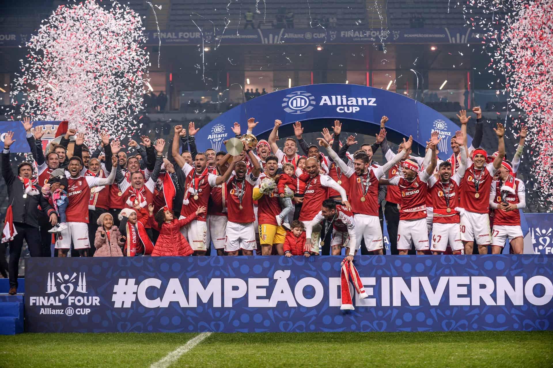 Betano congratula o SC Braga, Campeão de Inverno