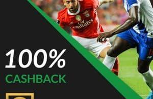 100% Cashback – Jornada 20 FC Porto vs SL Benfica