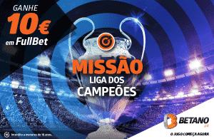 Liga dos Campeões está de volta e com 10€ de oferta