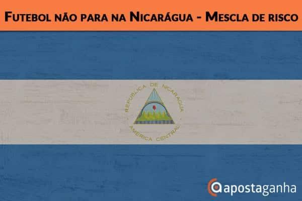 Futebol não para na Nicarágua – Mescla de risco