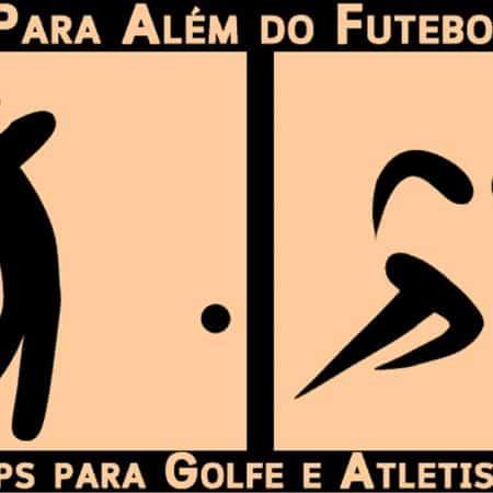 Para Além do Futebol – Apostas em Golfe e Atletismo 28/01