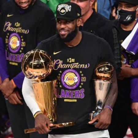 Lebron James guia Lakers ao 17.º título na NBA