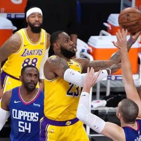 Clippers vencem campeões Lakers na abertura da NBA