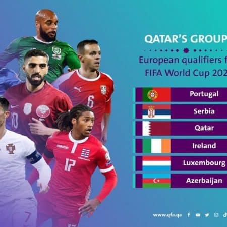 Qatar vai integrar grupo de Portugal no caminho para o Mundial