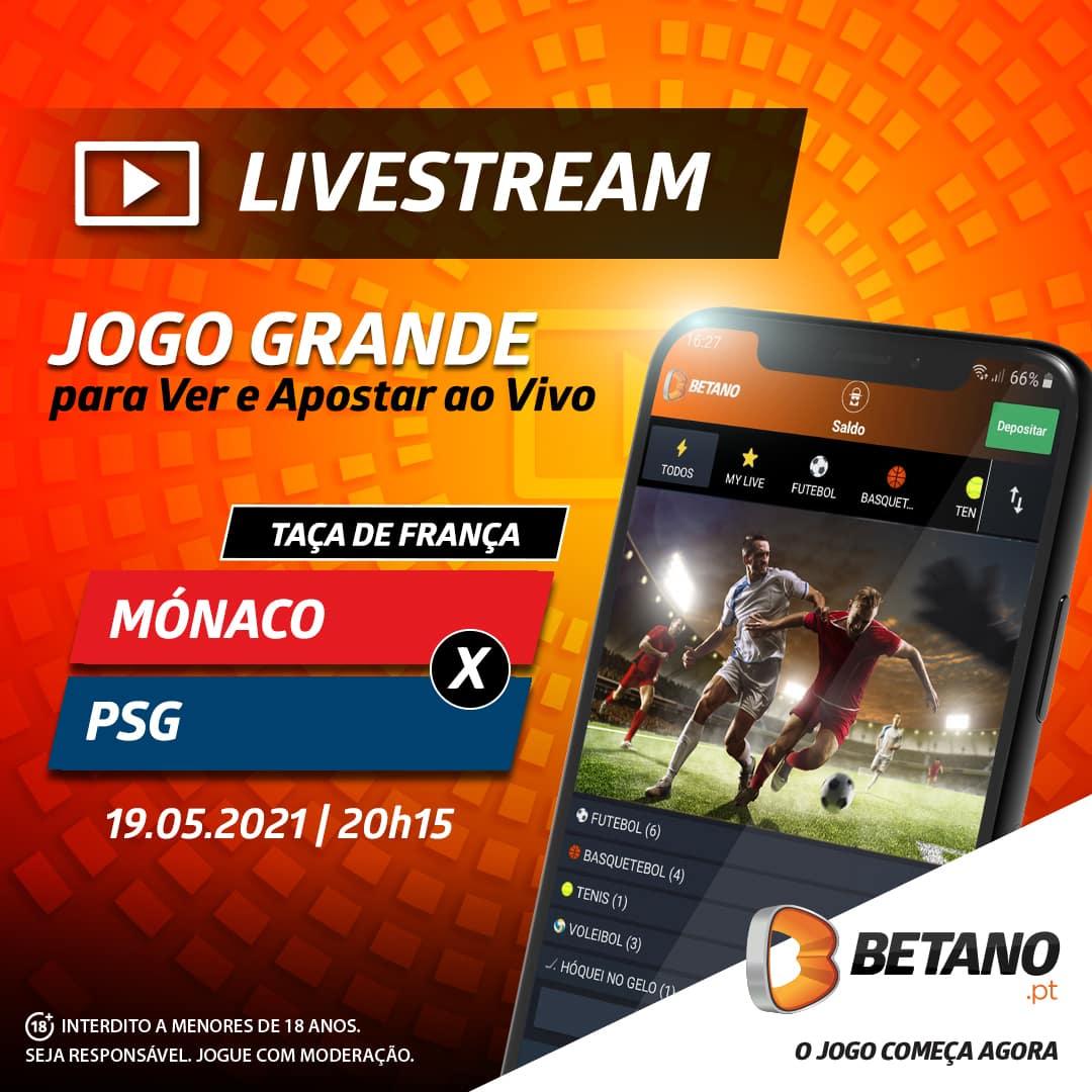 Monaco vs PSG Livestream