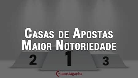 Qual casa de Apostas com maior notoriedade em Portugal
